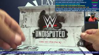 2018 Topps WWE Undisputed Wrestling 4 Box Break #5