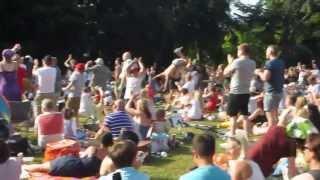 Ipswich reacts to Andy Murray winning Wimbledon 7 July 2013