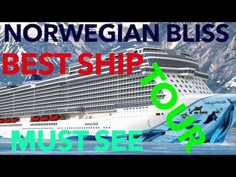Norwegian Bliss  - Full Walkthrough - Cruise Ship Tour - Norwegian Cruise Lines