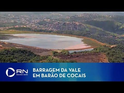 Secretária de Barão de Cocais fala sobre barragem da Vale