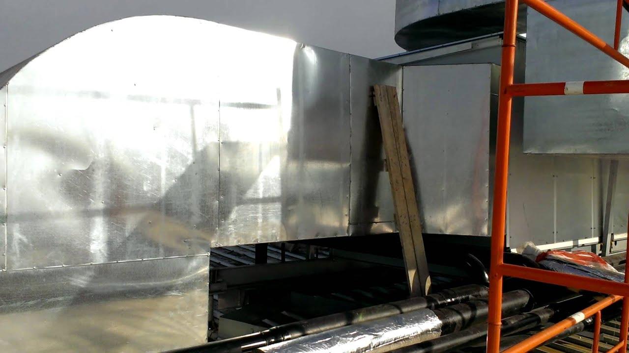 Теплоизоляция вентиляции.