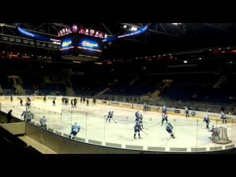 HC Slovan vs Dinamo Minsk 26.2.2014...