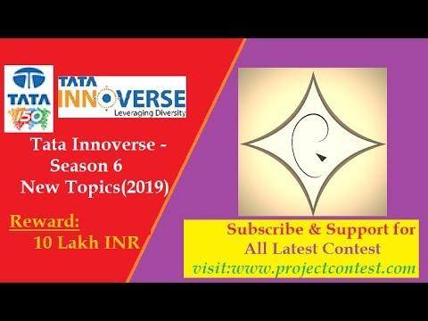 Tata Projects Limited- Tata Innoverse - Season 6- New Themes