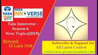 Tata Projects Limited I Tata InnoVerse Project contest Season 6 Part-2(2019)
