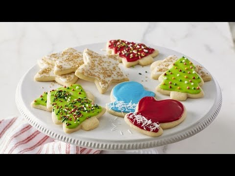 Classic Christmas Sugar Cookie Cutouts | Betty Crocker Recipe