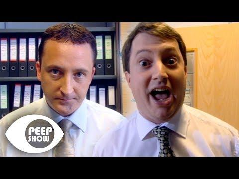 Jeff Breaks Mark's Nose - Peep Show