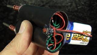 Как сделать самый мощный электрошок из КРОНЫ