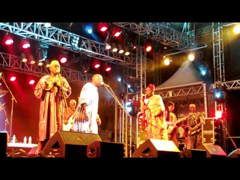"Orchestra Baobab - ""Coumba"" - Festival Back2Black 2013"