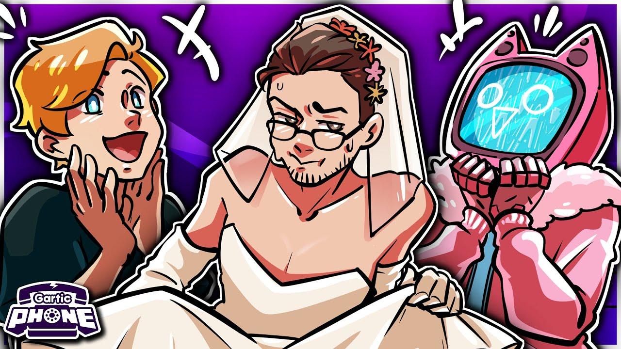 MR FRUIT'S PERFECT WEDDING! 👰  | Gartic Phone