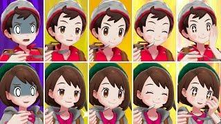 Pokémon Sword & Shield - All Curry Reactions