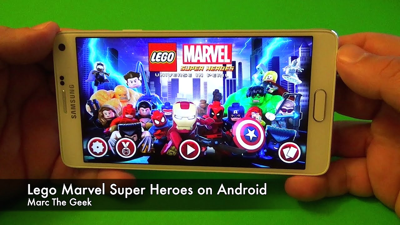 marvel lego android