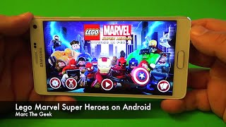 Lego Marvel Super Heroes on Android Review