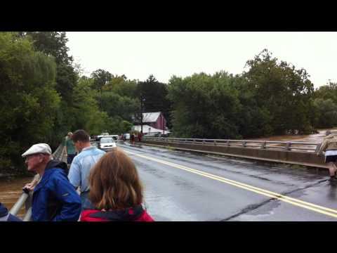 Conestoga River PA Flooding 2011 (Waterfront Restaurant)