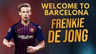 Frenkie de jong welcome to fc barcelona - skills & goals 2018 2019