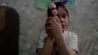 Кукла девочка кошка