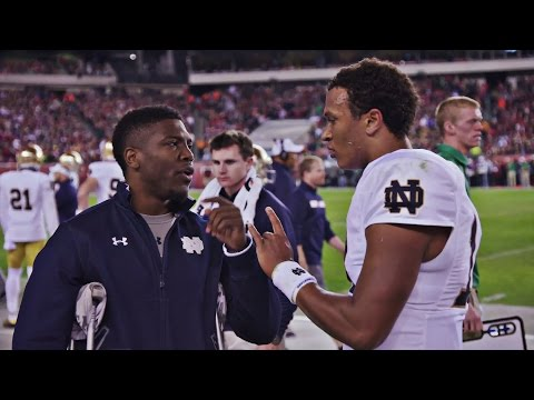 Malik Zaire Working His Way into a New Role | A SEASON WITH NOTRE DAME FOOTBALL