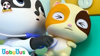 Baby Kitten's Healthy Checkups | Little Panda Doctor | Kids Role Play | Kids Song | BabyBus