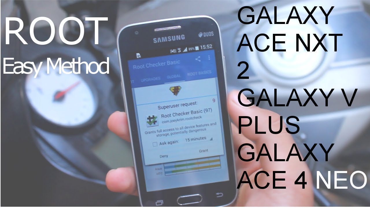 Root Galaxy V Plus Ace Nxt 2 And Ace 4 Neo Sm G318h Hz