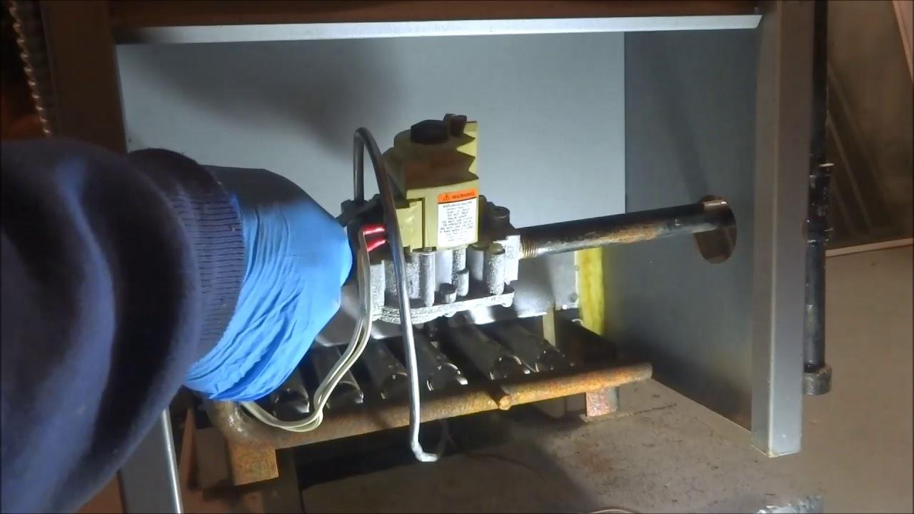 Peerless Gas Boiler not heating house - YouTube