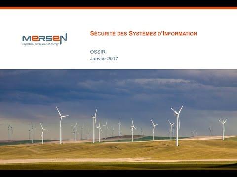 2017-01-10 Sécurité d'un groupe industriel de taille intermédiaire en environnement international