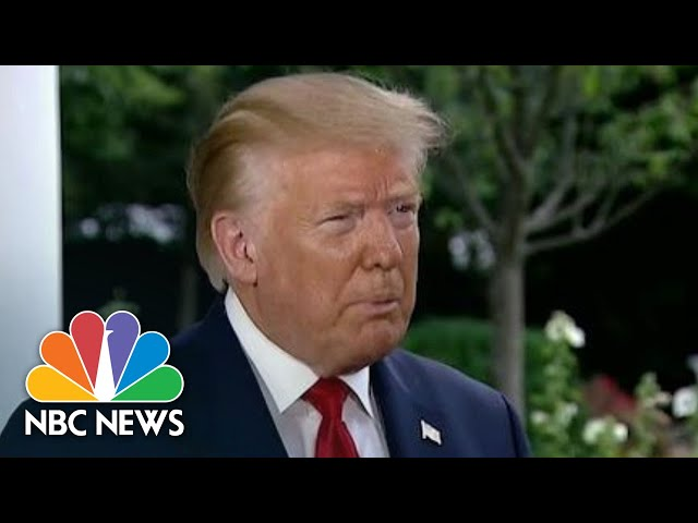 Trump Calls Allegations That Russia Paid Bounties On U.S. Troops A 'Hoax' | NBC Nightly News