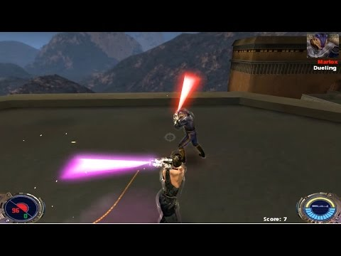 Jedi Knight II: MP Lightsaber dueling
