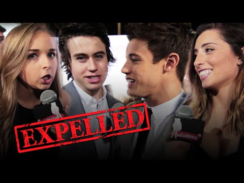 Cameron Dallas & Nash Grier Celebrity Crushes! EXPELLED Red Carpet