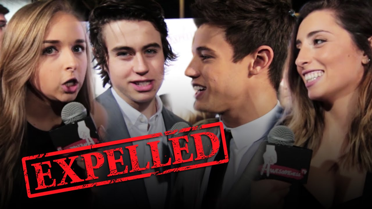 Cameron Dallas & Marcus Johns Expelled & Ariana Grande ...