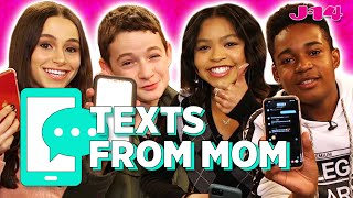 Raven's Home Cast Reads Texts From Mom