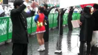 コンバットマーチ セントポール チャンス法政 / 東京マラソン2010