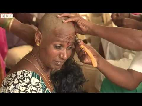BBC 2016 Video How India's human hair factory helps Africa