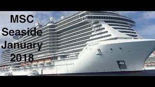 MSC Seaside Vlog 6 Nassau | MSC lunch Buffet