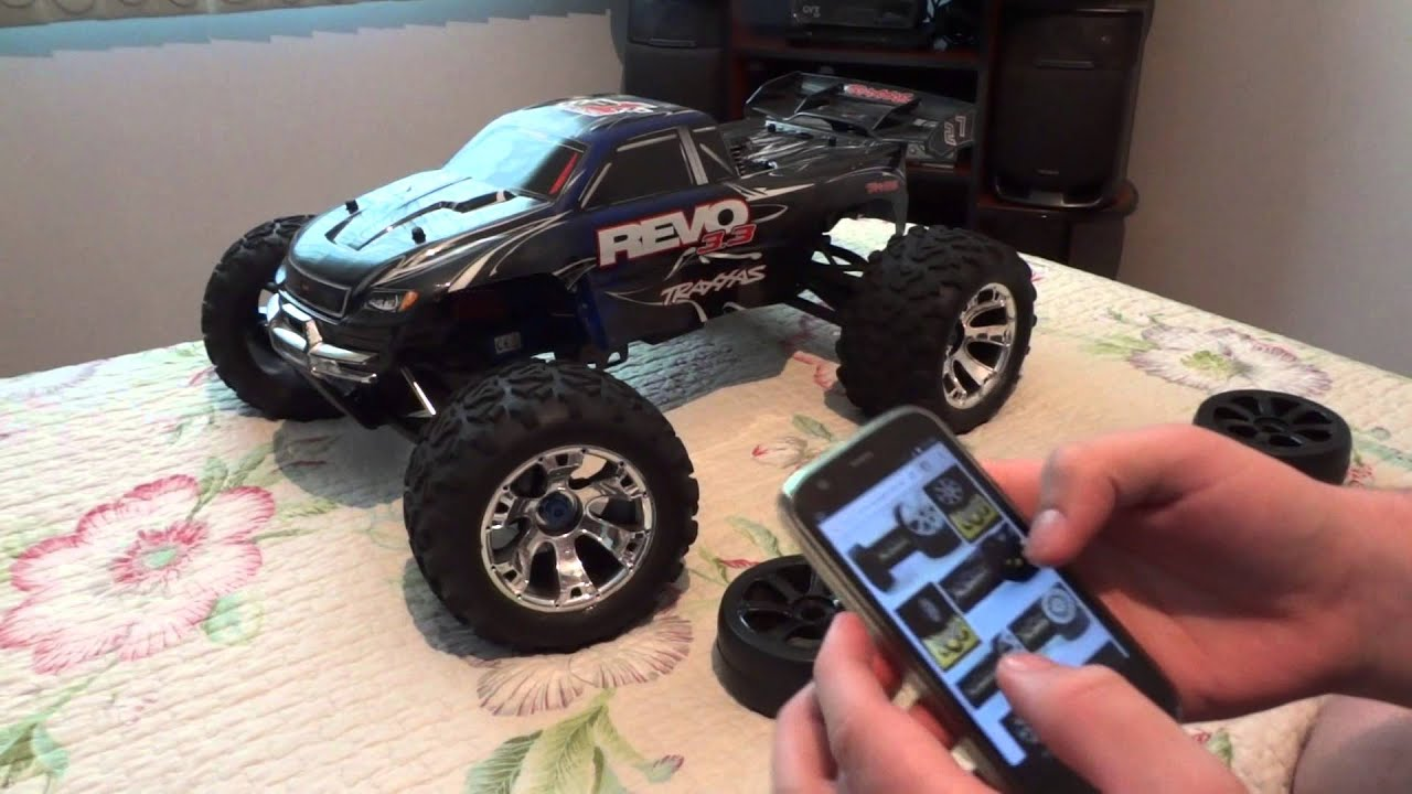 Rodas on road 1 8 projeto traxxas revo 3 3 on road