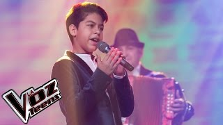 Luis Mario canta 'Que te amen de verdad' | Semifinal | La Voz Teens Colombia 2016