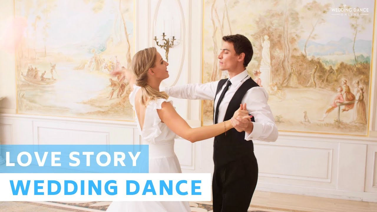 Indila - Love Story | Viennese Waltz | Wedding Dance Choreography | First Dance Online