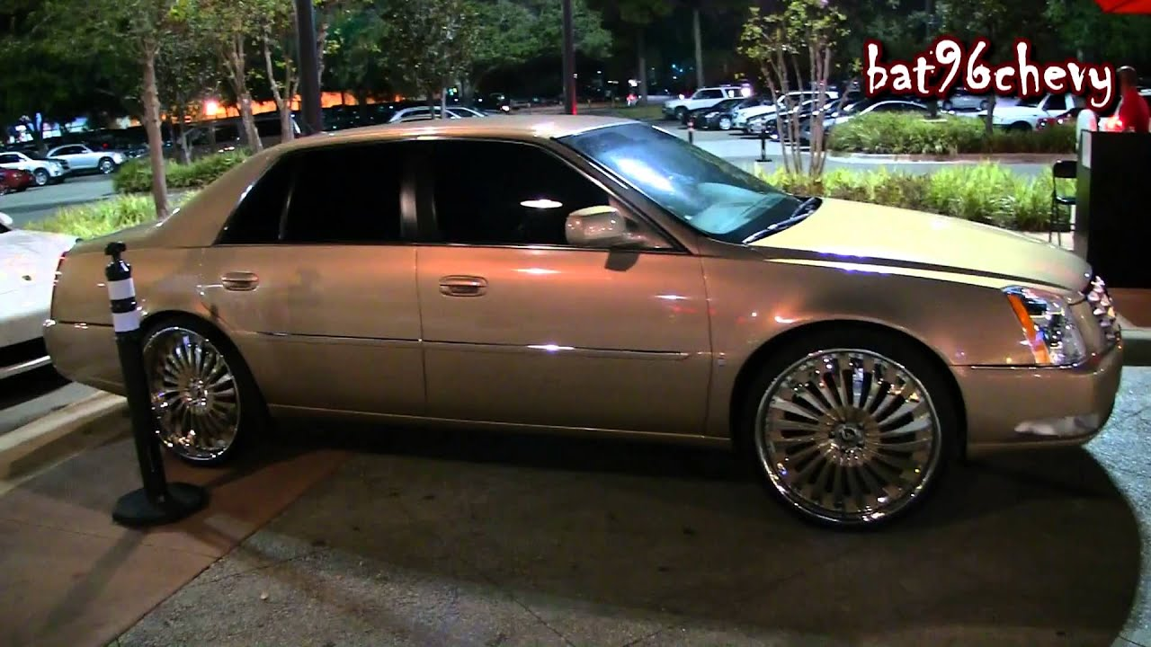 Cadillac Dts On 24 Quot Forgiato Autonomo Wheels 1080p Hd