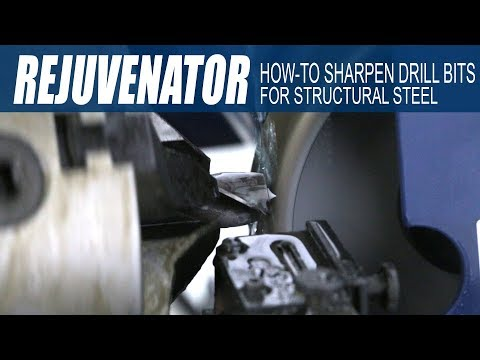 Ocean Rejuvenator Tutorial - How-to Sharpen Drill Bits for Structural Steel