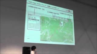 2013年11月14日(木)~16日(土)にお台場の日本科学未来館にて開催された「G空間EXPO2013」 内で実施した「Geoアクティビティフェスタ」の様子です。