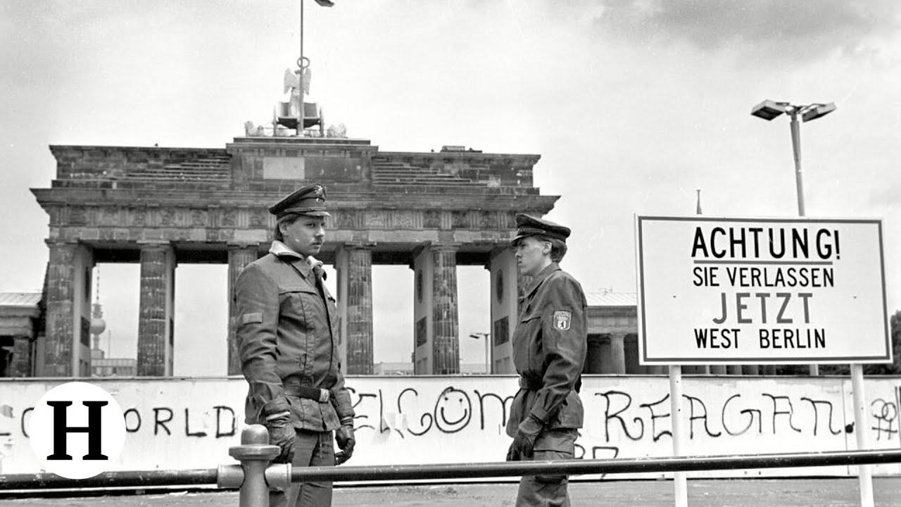 Mur berliński - budowa, ucieczki, upadek