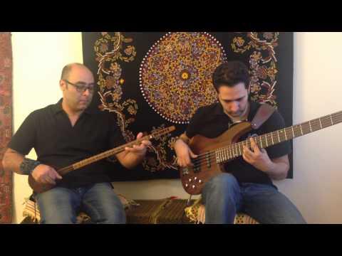Bass Setar Duet tribute to   Faramarz Aslani & Ardeshir Farah