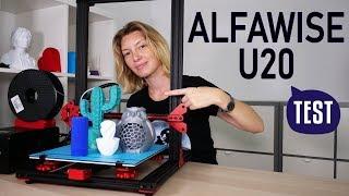 ALFAWISE U20, une imprimante 3D à 250€ mieux que la CR 10 ?!
