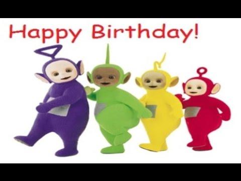 Teletubbies Happy Birthday Song Youtube