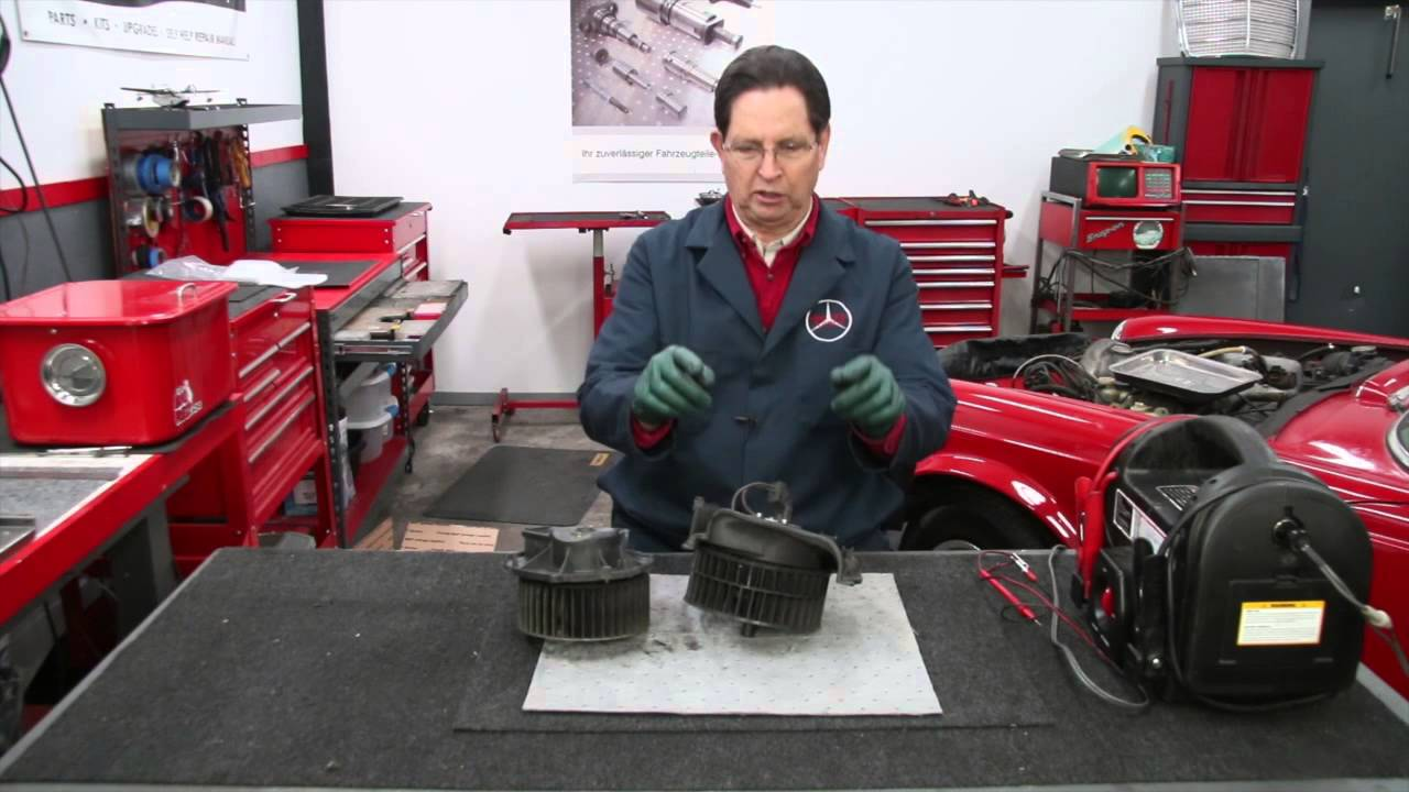 small resolution of older mercedes heater blower motor repair options w kent bergsma youtube