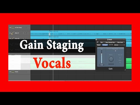 10 Mixing Tips: Gain Staging Vocals