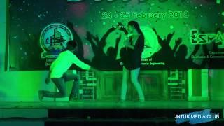 Cultivo 2K18    JNTUK Kakinada    ECE    Yaswanth and Group Dance Performance