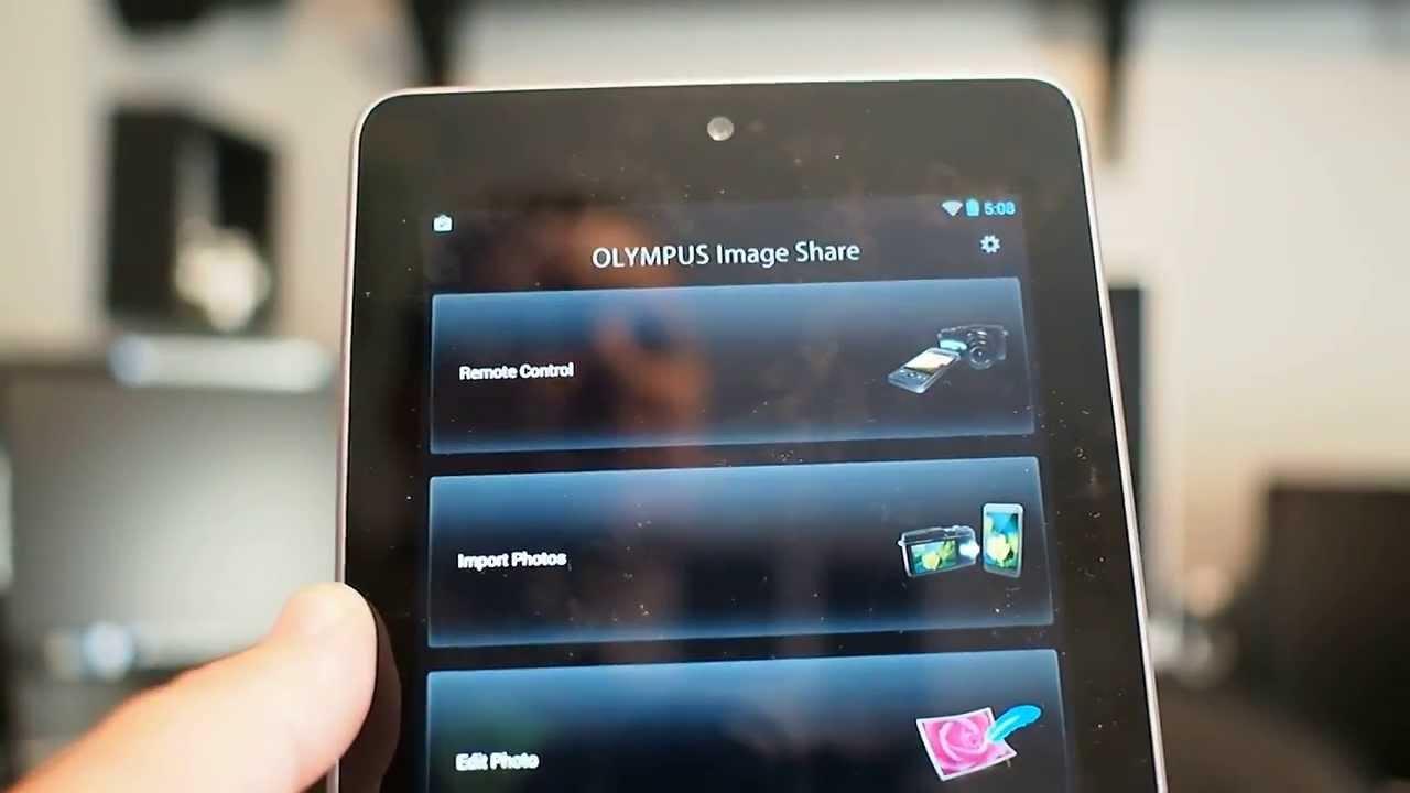 Olympus O I  Share smartphone app [Gary Ayton's photography