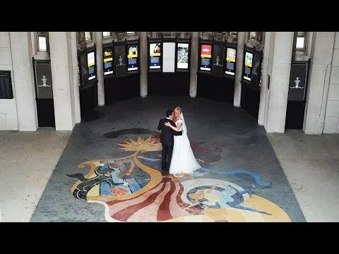 Lexi and Daniel Wedding Sneak Peek  Old Stone Chapel  and Jewel Box