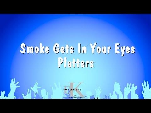 Smoke Gets In Your Eyes - Platters (Karaoke Version)