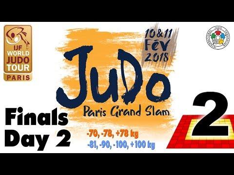Grand-Slam Paris 2018: Day 2 - Final Block