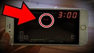 EM BUSCA DAS MALDIÇÕES DO MINECRAFT PE AS 3:00 AM (DA MADRUGADA) #01
